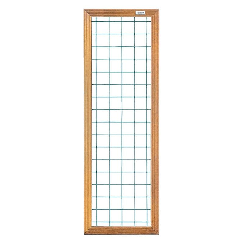 draadscherm met houten kader