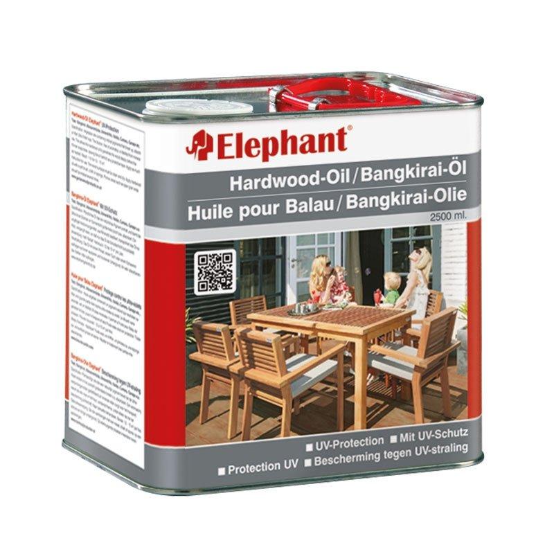 hardhout olie elephant