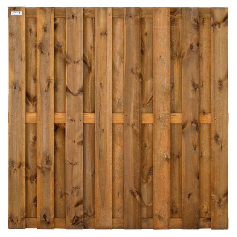 houten schutting 2 x 2 meter