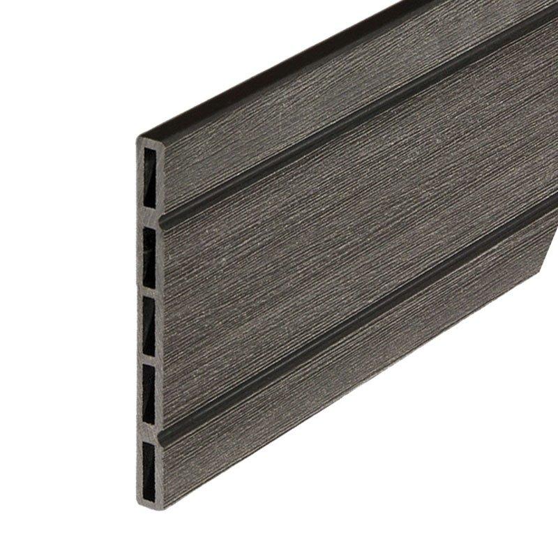 Composiet plank antraciet
