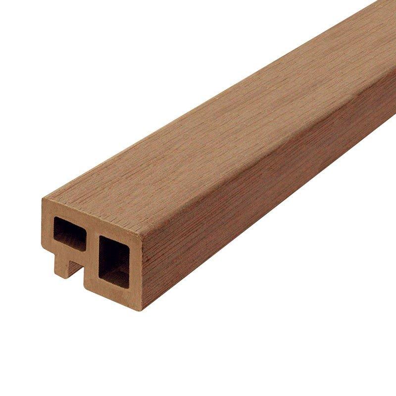 Composiet kant- & regelafwerking 30 x 50 x 2250 mm. Type: Bruin