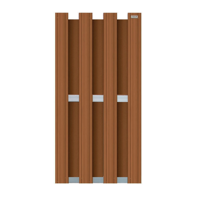 design schutting bruin