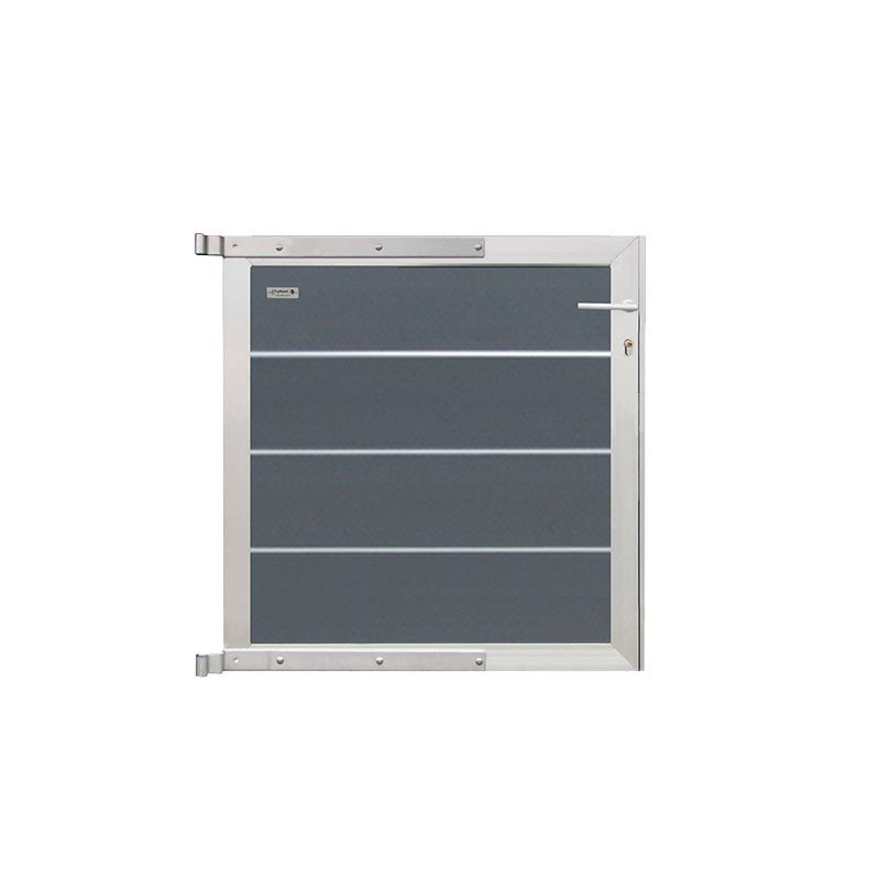 Zelfbouw Composiet Tuinpoortje Rock Grey 90 x 97 cm. Type: Aluminium