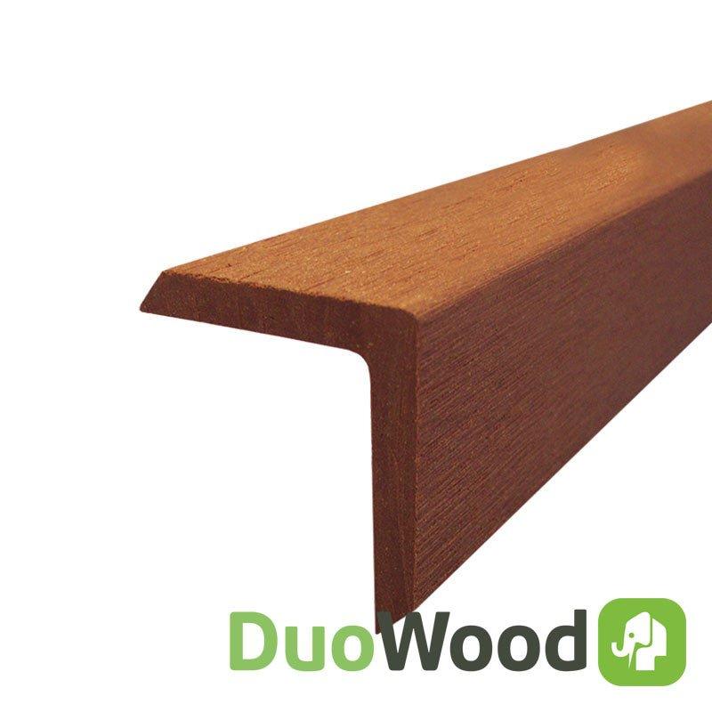 Hoeklijst plint havanna duowood