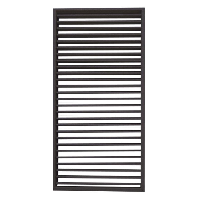 Zwart shutterscherm 90 x 180 cm.