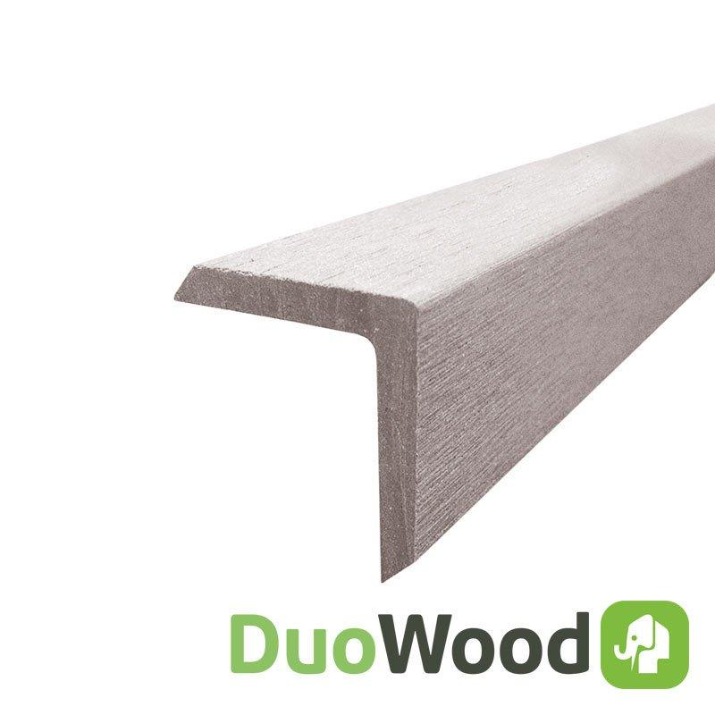 Duowood Hoeklijst 4 x 4 x 200 cm. Type: Riviera