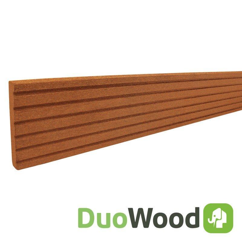 Duowood afdekprofiel 11 x 71 x 2200 mm. Type: Havana