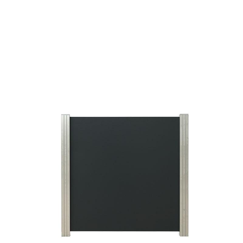 Aluminium composiet 90 x 97 cm. Type: Donkergrijs