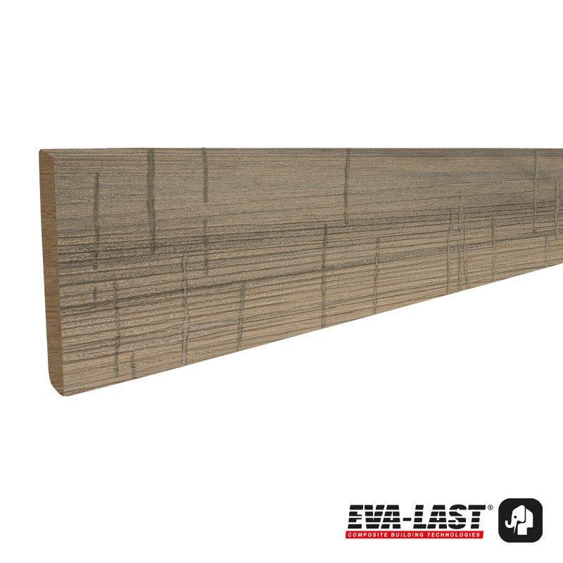Eva-Last I-Series afdekprofiel 11 x 71 x 2200 mm. Type: Eiken