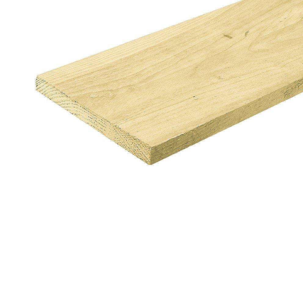 Houten plank Ruw Fijn Bezaagd 22 x 200 mm. Type: Vuren