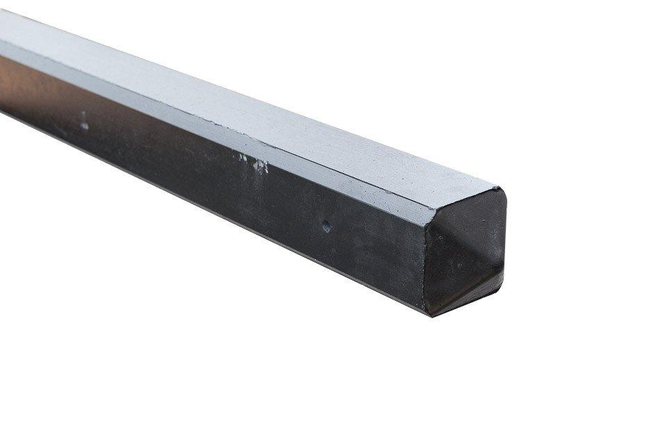 Hoekpaal voor Rotsmotief 10 x 10 x 280 cm. Type: Betonbouw Gecoat