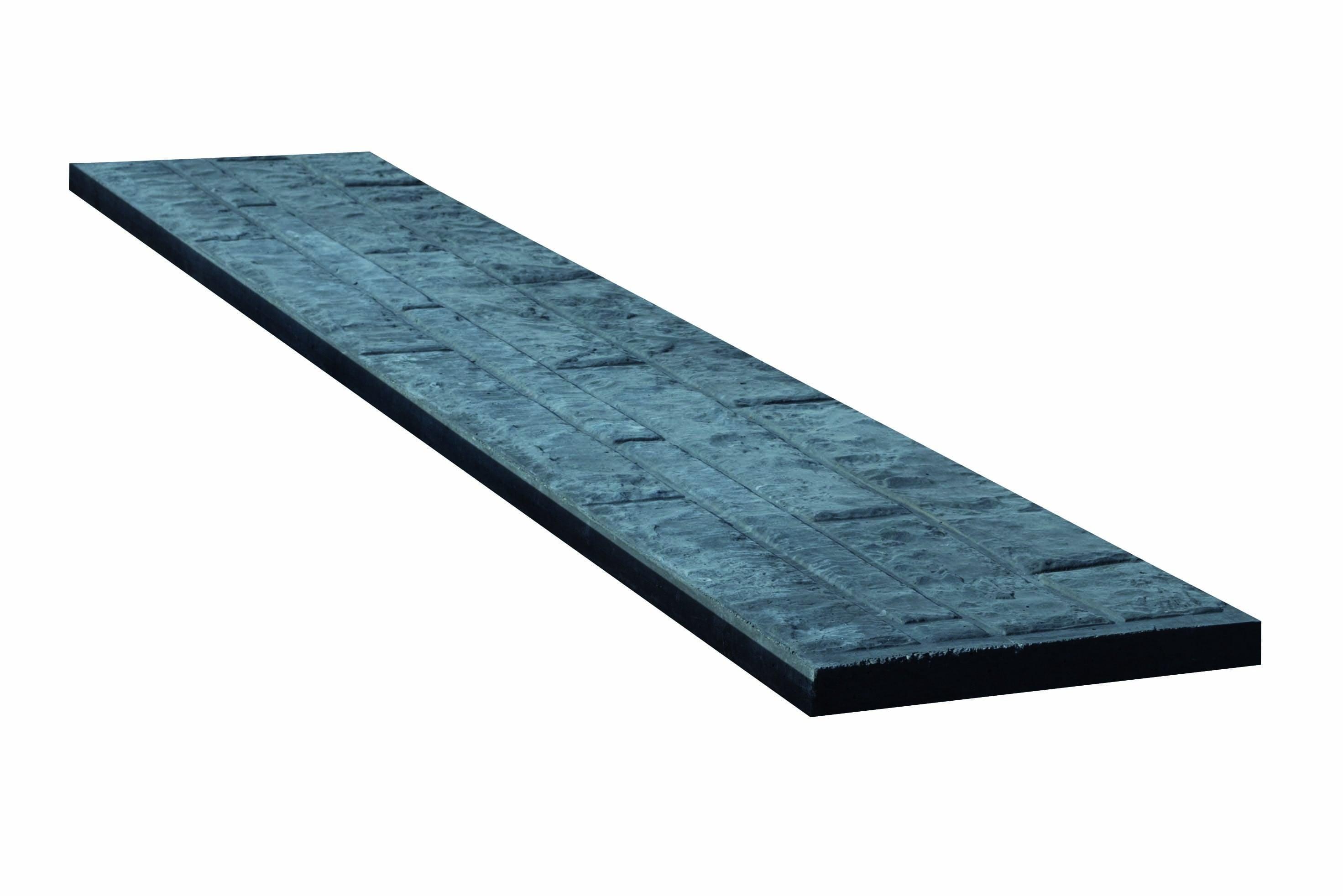 Onderplaat beton met Rotsmotief. Type: Betonbouw