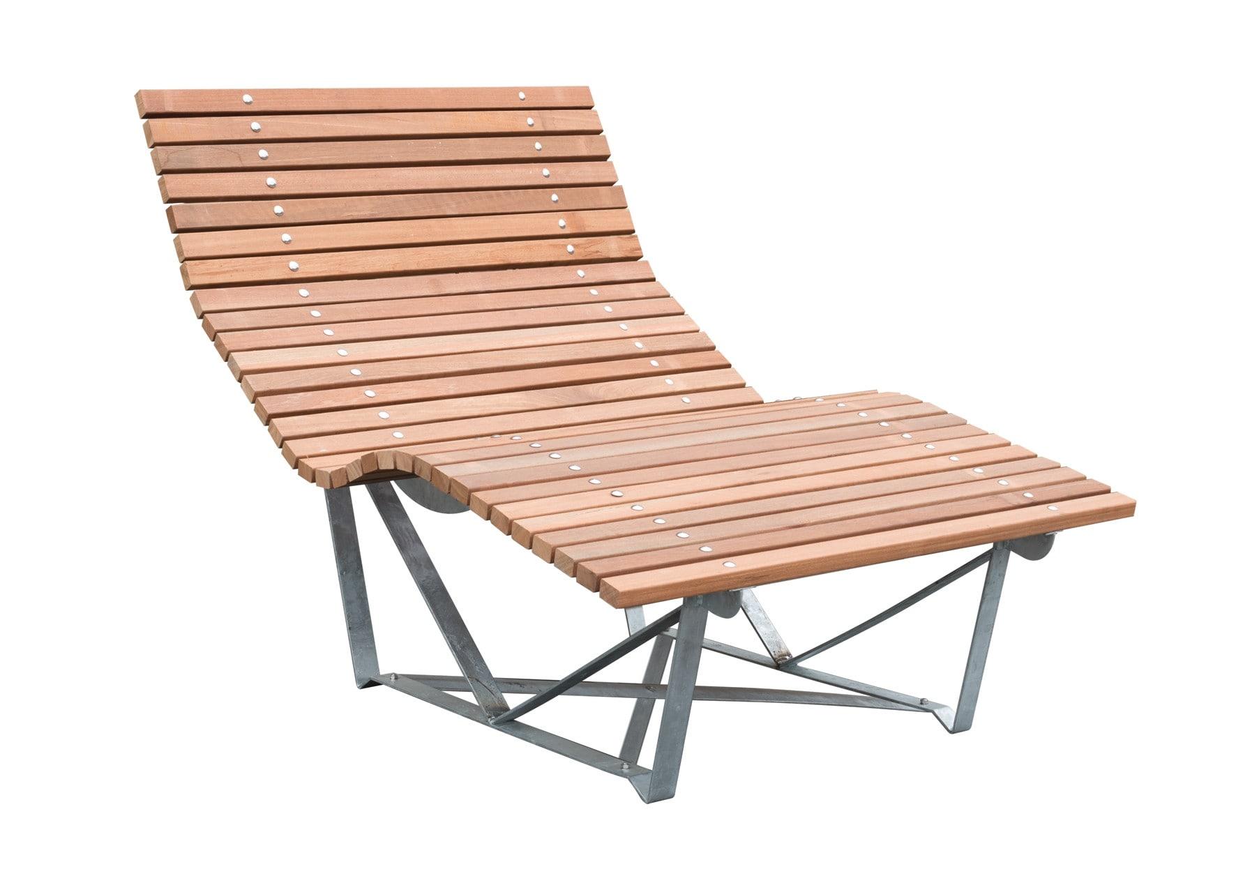 Hardhouten loungestoel carpgarant