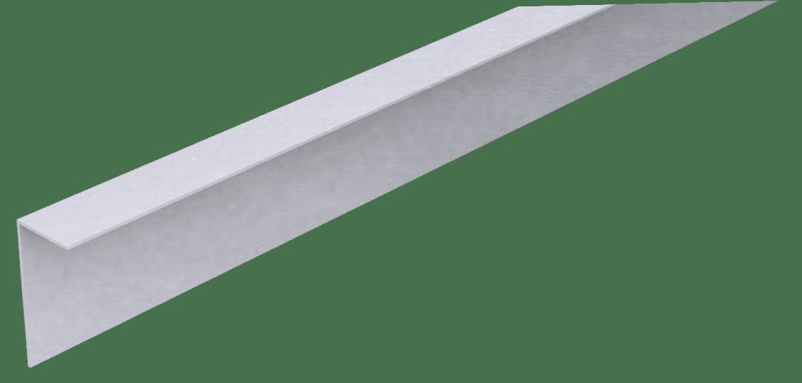 Aluminium Hoekprofiel 3x7x500cm