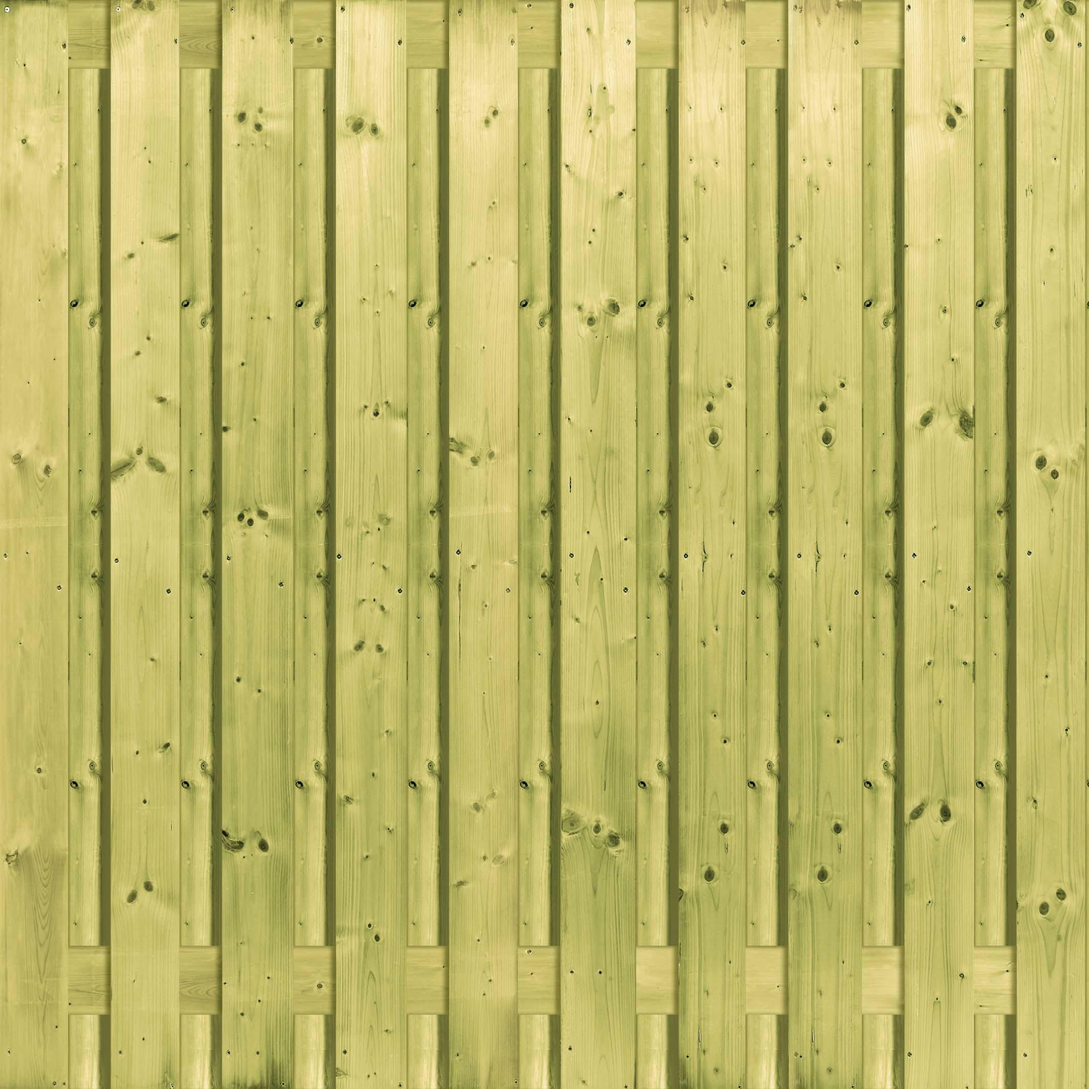 Houten schutting Grenen 130 x 180 cm Type: Betonbouw 21Vuren Betonbouw