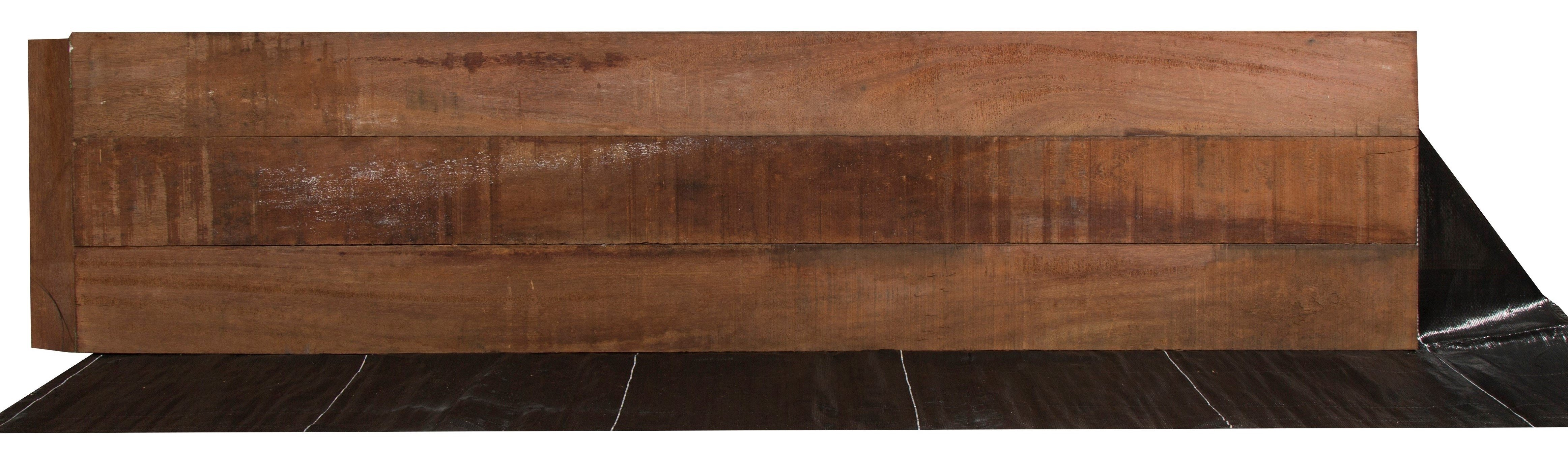 Houten Beschoeingsschotten 80 x 300 cm. Type: Azobe