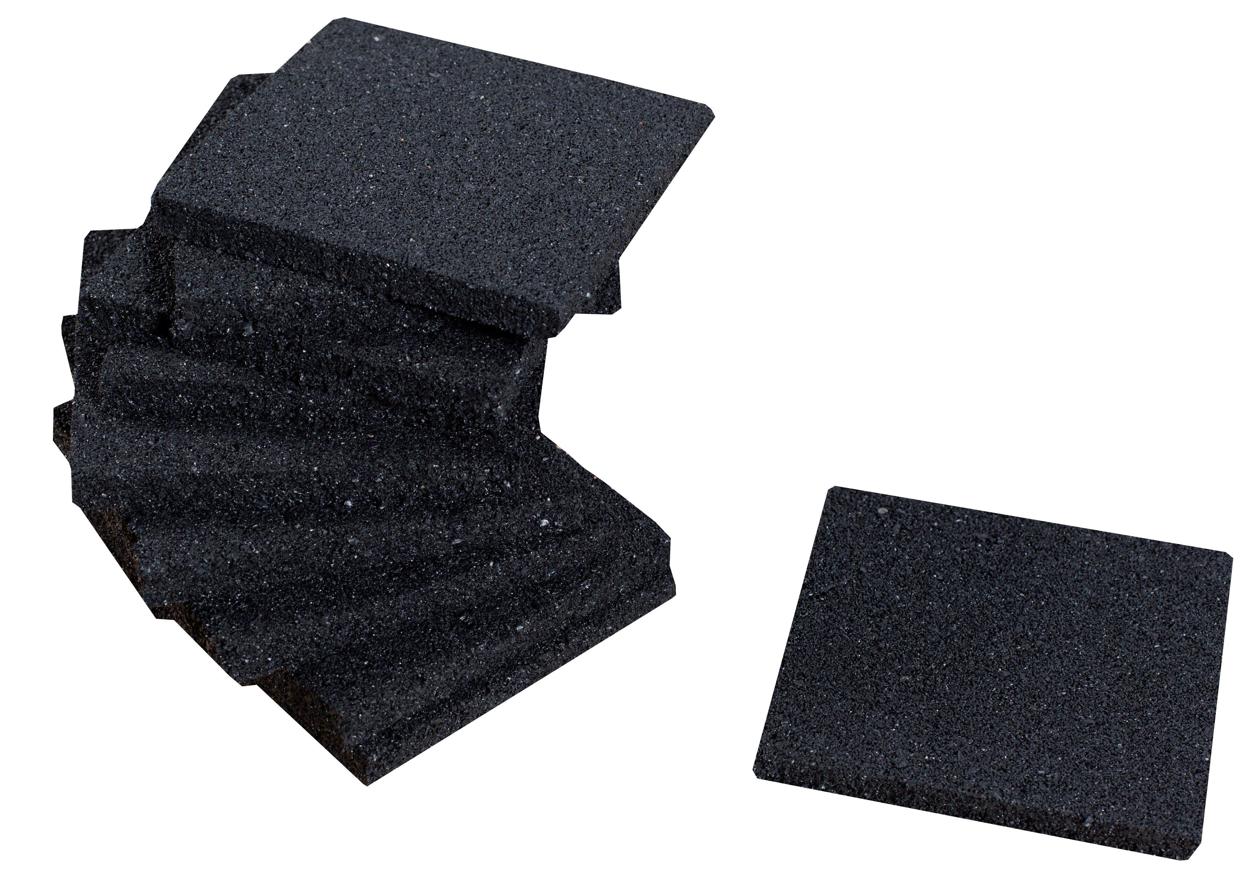 rubber tegel terras