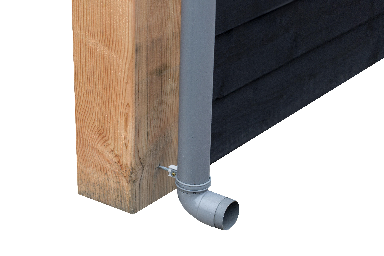 Afvoerset CarpGarant Type: PVC grijs
