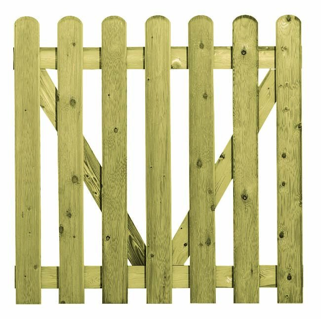 carpgarant houten poort