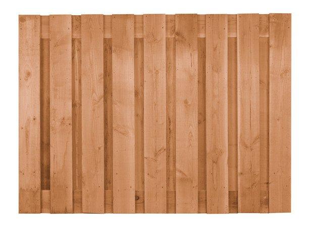 Houten Schutting Douglas lariks 90 x 180 cm. Type: Betonbouw geschaafd