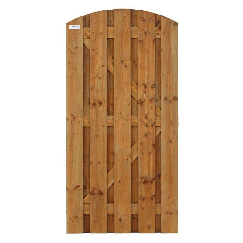 elephant bruine deur