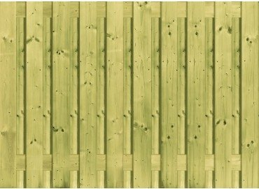 Houten Schutting Grenen 90 x 180 cm. Type: Betonbouw 21