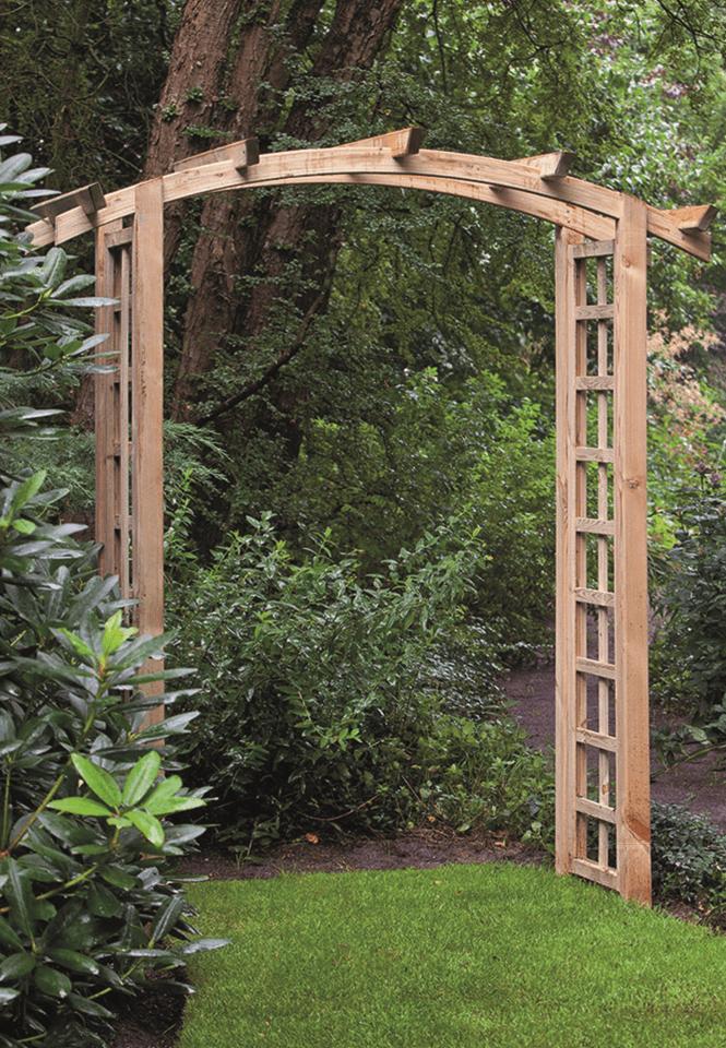 Houten pergolaset grenen toog 54 x 254 cm
