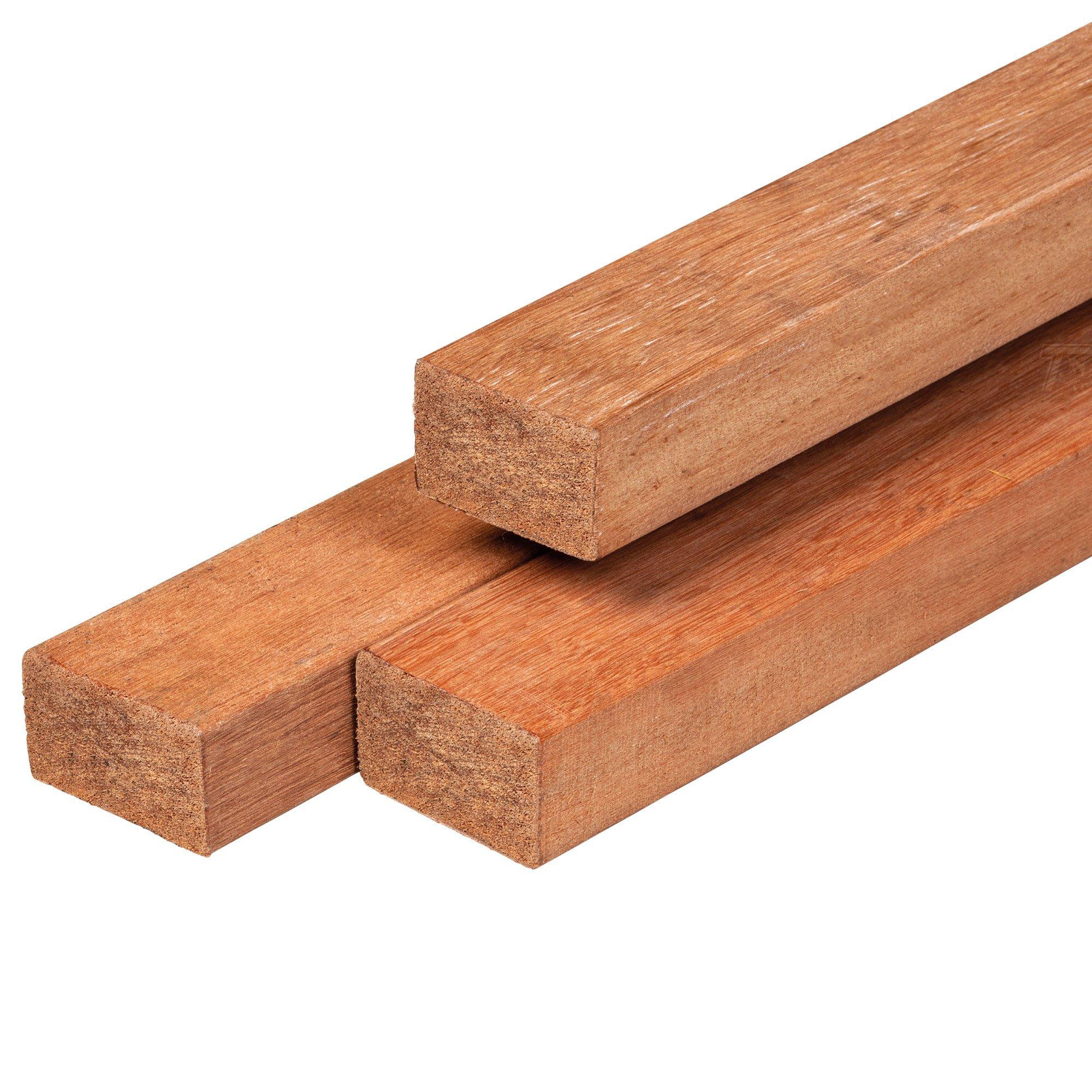 Hardhouten onderlegger 45 x 68 mm Type: Hardhout