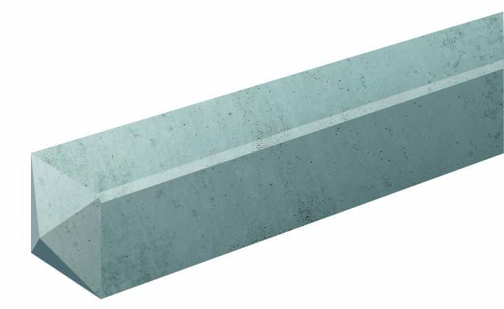 hoekbetonpaal grijs carpgarant