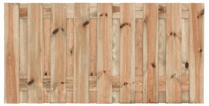 Houten schutting grenen 90 x 180 cm. Type: Vasse