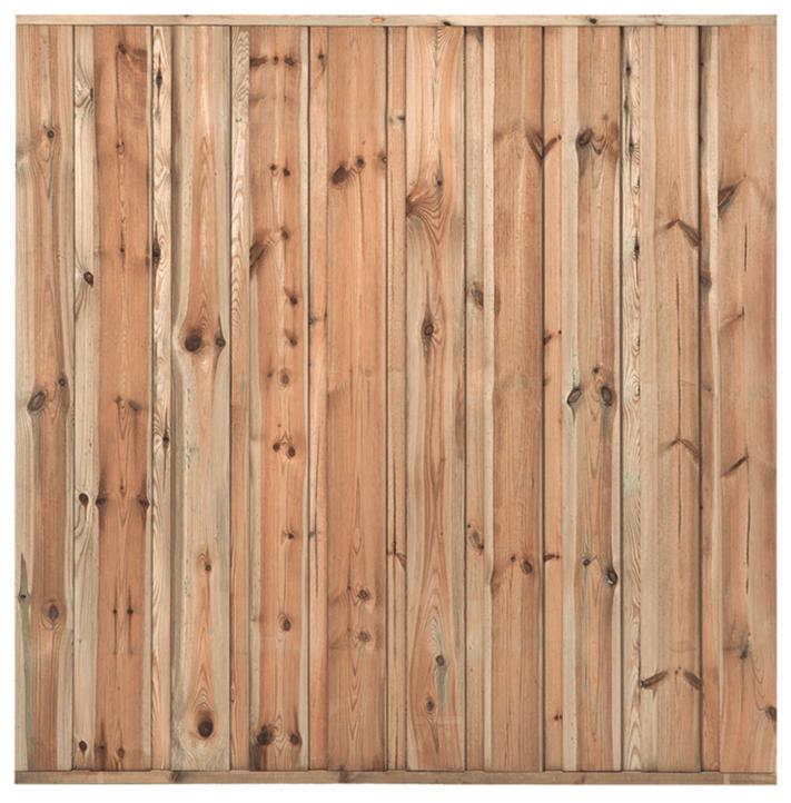 Houten schutting grenen 180 x 180 cm. Type: Monaco
