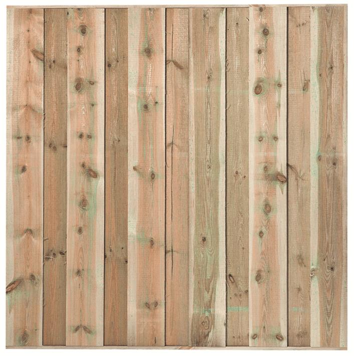 Houten schutting grenen 180 x 180 cm. Type: Losser