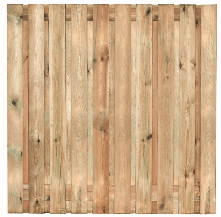 Houten schutting grenen 180 x 180 cm. Type: Venray