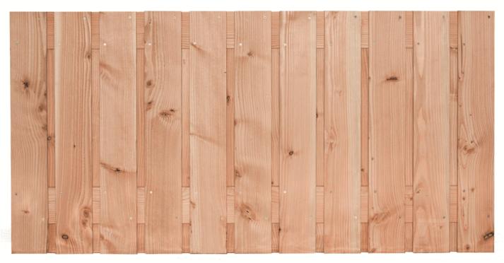 Houten schutting Lariks/Douglas 90 x 180 cm. Type: Harz