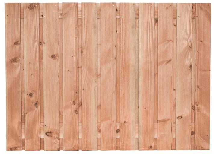 Houten schutting Lariks/Douglas 130 x 180 cm. Type: Harz