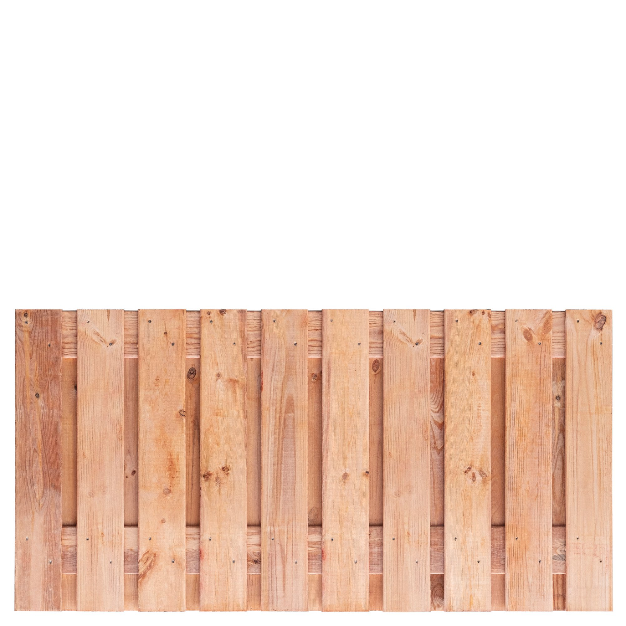 Red Class Wood schutting 90 x 180 cm. Type: Casablanca 90