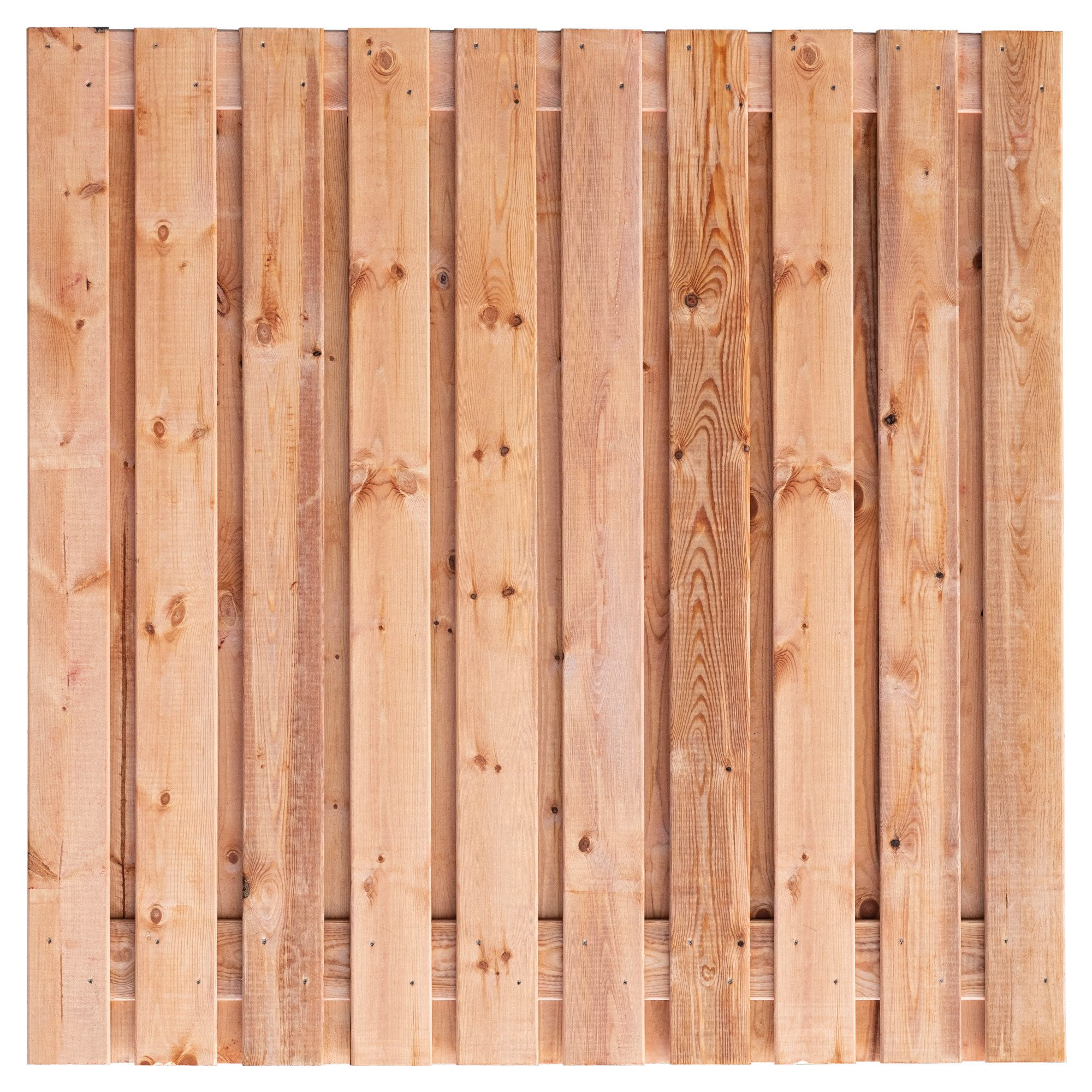 Red Class Wood schutting 180 x 180 cm. Type: Casablanca 180