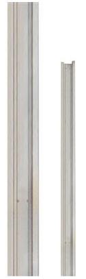 Aluminium tuin deurstopper 180 cm Type: Forte Antraciet