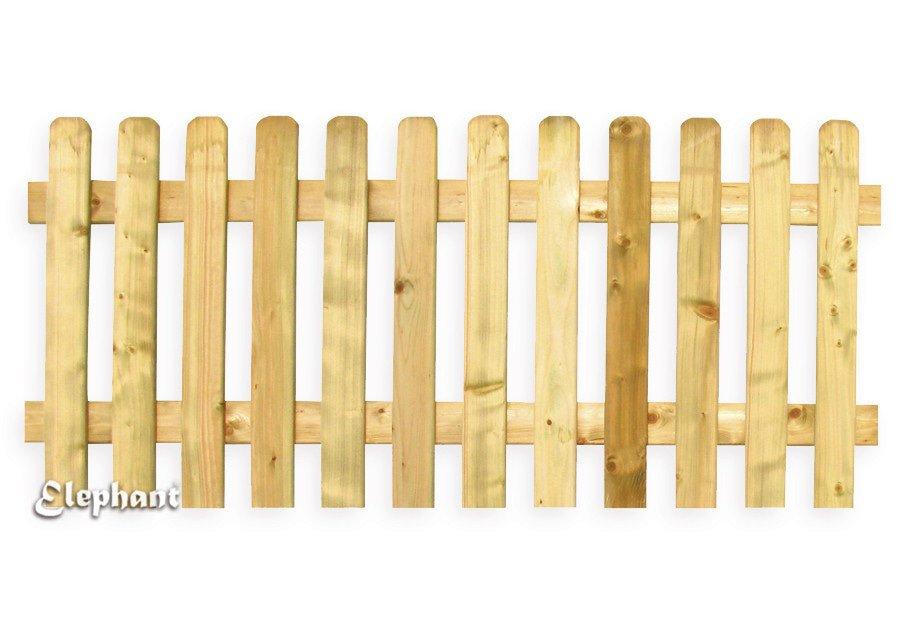 Elephant houten hek