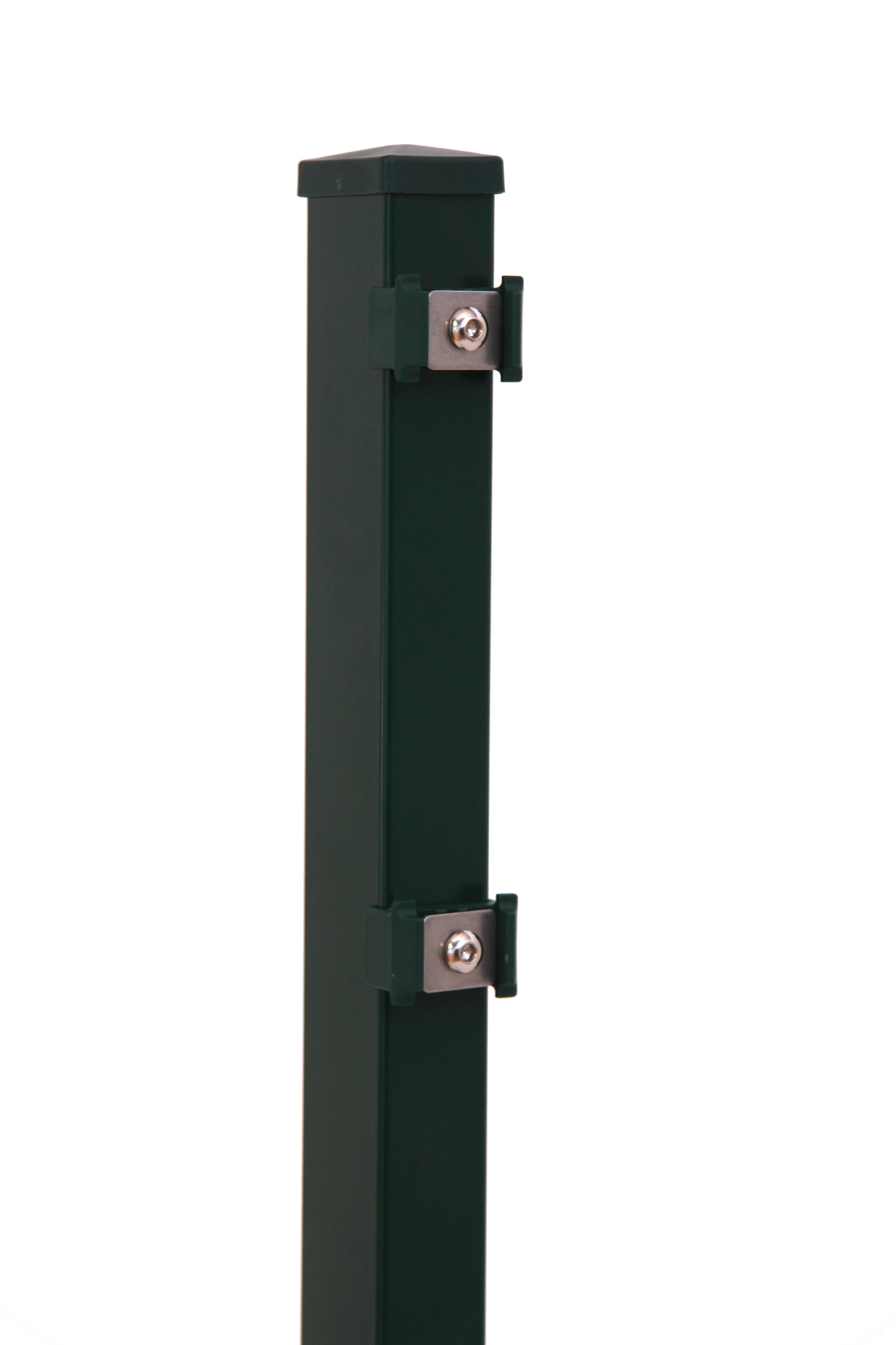 Stalen paal 4 x 4 cm Type Groen