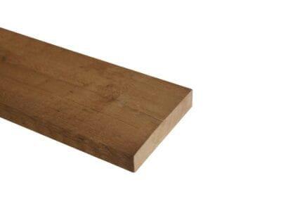 Thermisch gemodificeerd plank Type: Vuren Ongeschaafd