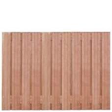 Hardhouten privacy schutting recht 130 x 180 cm. Type: Hoorn 130