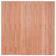 Hardhouten privacy schutting recht 180 x 180 cm. Type: Hoorn 180