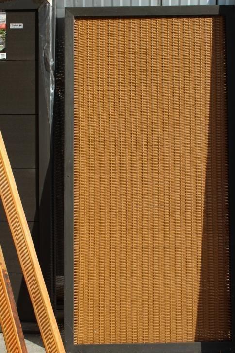 korting shutterscherm bruin